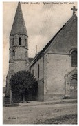 78 - EPONE --  Eglise - Epone