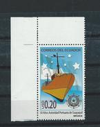EC - 2008 - 3088 -  SCHIFF - The 50th Anniversary Of Port Authority Of Guayaquil   - BOGENECKE- ** -MNH - POSTFRISCH - Equateur