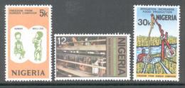 Nigeria 1974 - Michel 307 - 309 **