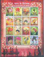 NEW! NEW! NEW! SHEETLET ON HEADGEARS OF INDIA. LOWEST PRICING! BUY IT NOW!