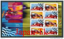 KANADA Mi. Nr. Block 22  F1  15. Todestag Von Gilles Villeneuve- MNH