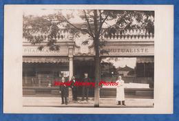 CPA Photo - PUTEAUX - La Pharmacie Mutaliste - Société De Prévoyance Mutuelle La Revendication - 1904 - Pharmacien - Puteaux