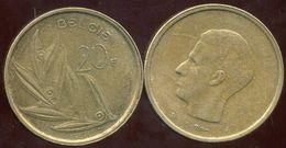 BELGIUM BELGIQUE 20 Francs 1981 ( Belgie ) - 1951-1993: Baudouin I