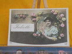 Cartes Postales > Prénoms > La Jeune Dame Juliette - Non Circulé - Silhouettes