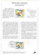 NOTICE PTT 1981 LES PLONGEURS D'EDOUARD PIGNON - Documents Of Postal Services