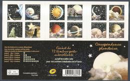 """2016 Carnet Adhésif -  BC 1324 """" Correspondances Planétaires """" Salon D'Automne Neuf - LUXE ** NON Plié MNH - Carnets"""