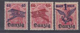 Danzig MiNr. 50-52 ** - Dantzig