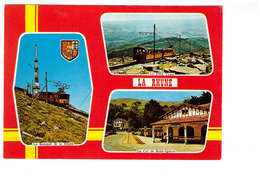 Train Locomotive La Rhune Gare Col De Saint Ignace Le Petit Train - Trains