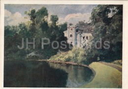 Painting By V. Polenov - Pond In The Park - Russian Art - 1940 - Russia USSR - Unused - Schilderijen