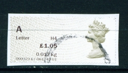 GREAT BRITAIN -  Post And Go Label On Piece   Variety As Shown In Scan - Great Britain