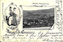 Gruss Romania Campulung Fine 1800  Inizi 1900 - Saluti Da.../ Gruss Aus...