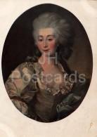 Painting By D. Levitzky - Portrait Of Ursula Mnishek , 1782 - Woman - Russian Art - 1941 - Russia USSR - Unused - Schilderijen