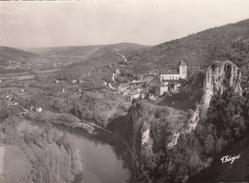 G , Cp , 46 , SAINT-CIRQ-LAPOPIE , Perle Du Quercy , Belvédère Sur La Vallée - Saint-Cirq-Lapopie