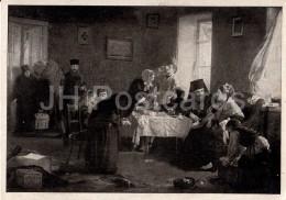 Painting By A. Korzukhin - In The Monastery Hotel , 1882 - Russian Art - 1946 - Russia USSR - Unused - Schilderijen