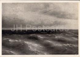 Painting By I. Aivazovsky - Black Sea , 1881 - Russian Art - 1946 - Russia USSR - Unused - Schilderijen
