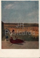 Painting By A. Venetsianov - The Summer - Woman - Sickle - Russian Art - 1941 - Russia USSR - Unused - Schilderijen