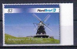 Deutschland Nordbrief 'Nordermühle Auf Pellworm' / Germany 'Northern Mill On Pellworm Island' **/MNH 2017