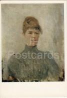 Painting By V. Serov - Portrait Of Actress Maria Van-Zandt , 1887 - Woman - Russian Art - 1974 - Russia USSR - Unused - Paintings