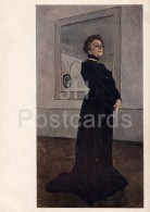 Painting By V. Serov - Portrait Of Russian Actress Yermolova , 1905 - Woman - Russian Art - 1941 - Russia USSR - Unused - Schilderijen