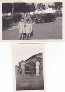 FIAT 1100 MUSONE - LOTTO DI DUE FOTOGRAFIE ANNI ' 40-50 - Automobiles