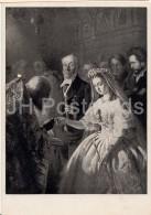 Painting By V. Pukirev - Unequal Marriage , 1862 - Russian Art - Russia USSR - 1946 - Unused - Schilderijen