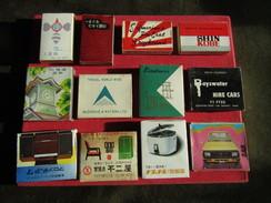 Vintage 12 Matchboxes Safety Matches Advertising - Zündholzschachteln