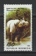 Indonesien Mi 1578 ** MNH Rhinoceros Sondaicus
