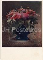 Painting By I. Kramskoy - Bouquet Of Flowers . Phlox , 1884 - Russian Art - 1940 - Russia USSR - Unused - Schilderijen