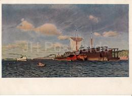 Painting By I. Levitan - Fresh Wind , 1891-95 - Sailing Boat - Russian Art - 1940 - Russia USSR - Unused - Schilderijen