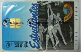 SPAIN - Chip - 250 Units - Estudiantes - P-282 - 09.97 - 5,500ex - Mint Blister - Spain