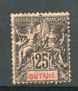 GUYANE- Y&T N°37- Neuf Avec Charnière * (belle Cote!!!) - Ungebraucht