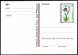 Österreich Austria 1993 - Blume - Postkarte - Schachbrettblume - Kiebitzei - Fritillaria Meleagris - Pflanzen Und Botanik