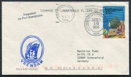 1998 Bahamas VEENDAM Netherlands Ship Cover. Everglades Port Paquebot. Fort Lauderdale, USA - Bahamas (1973-...)