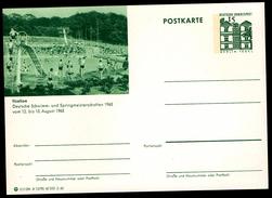 Deutschland 1965 - Postkarte - Itzehoe - Schimm- Und Springmeisterschaften
