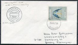 1973 Dutch Antillies / Nederlandse Antillen S.S. VEENDAM Ocean Post. Bermuda PAQUEBOT Holland - America Line Ship Cover - Curacao, Netherlands Antilles, Aruba