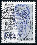 BRD - Mi 1629 - OO Gestempelt (B) - 100Pf      Werner Bergengruen - [7] West-Duitsland
