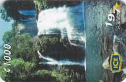 Costa Rica, CRI-V88, Cataratas De Nauyaca, Waterfall, 2 Scans . - Costa Rica