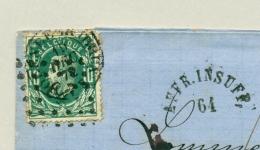 """België - 1972 - 10c On Taxed Cover """"Affr. Insuff"""" From Molenbeek To Tilburg / Nederland"""
