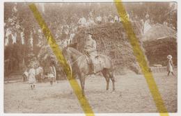 59 NORD FLERS EN ESCREBIEUX / PONT SUR LA DEULE  MOISSON  Canton De DOUAI CARTE PHOTO ALLEMANDE MILITARIA 1914/1918 WK1 - Francia