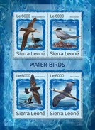 Sierra Leone 2016, Animals, Water Birds, 4val In BF