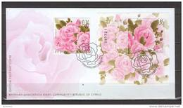 Cyprus 2011 FLowers - Roses FDC