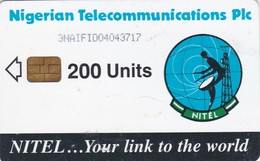 Nigeria, NGA-17c, 200 Units, Earth Station, 2 Scans.  Chip : Siemens 37