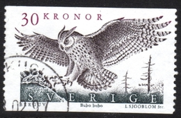 Sweden Owl Used Stamp - Owls