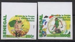 Sénégal 2017 Mi. ? Imperf 60 Ans CAN Coupe D'Afrique Des Nations Football Soccer Africa Cup **