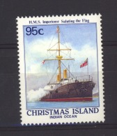 06195  -   Christmas Island  :  Yv  271   **      Bateau - Boat