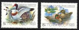 Ducks Mnh Stamps