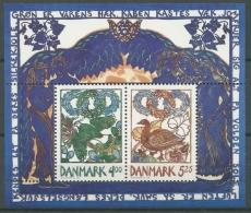 Dänemark 1999 Frühlingsboten Block 11 Postfrisch (C14101)