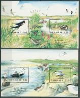 Dänemark 1999 Einheimische Zugvögel Block 12/13 Postfrisch (C14102)