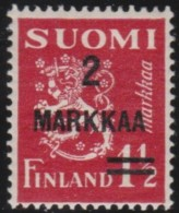 Finland   .     Yvert    194            .          *     .      Ongebruikt   .   /   .     Mint-hinged