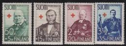 Finland   .     Yvert    196/199           .          *     .      Ongebruikt   .   /   .     Mint-hinged